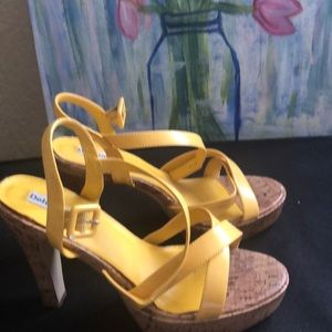 Delicious strapped yellow sandals